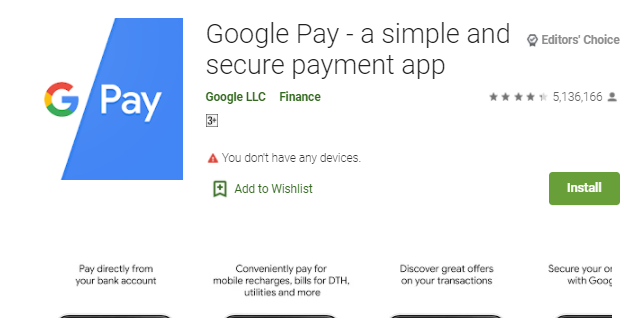 Google Pay for Mac