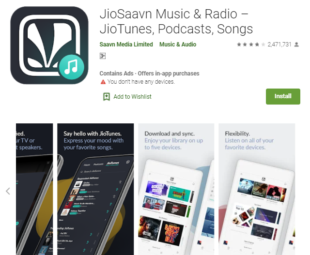 JioSaavn for Computer