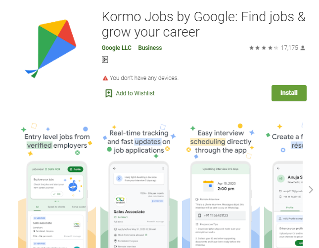 Kormo Jobs for Mac Laptop