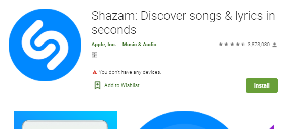 Shazam for Desktop