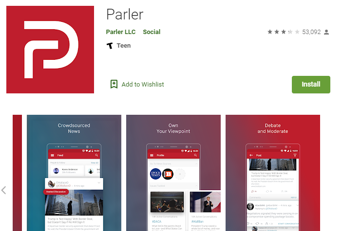 Parler for Windows