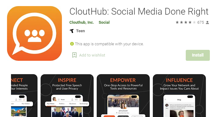 CloutHub for Mac PC