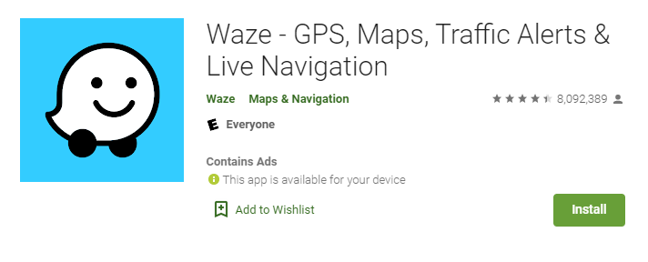 Waze for Mac PC
