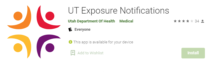 UT Exposure Notifications for Mac PC