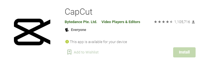 CapCut for Windows PC