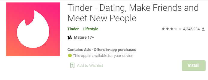 Tinder for Mac PC