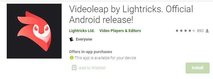 Videoleap by Lightricks for Mac PC